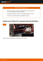 Avtomehanična priporočil za zamenjavo RENAULT Twingo c06 1.2 16V Vzmetenje