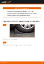 Avtomehanična priporočil za zamenjavo RENAULT Renault Clio 2 1.2 16V Zracni filter