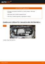 avto deli VW TOURAN (1T3) | PDF Vodič za popravilo