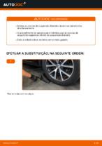 Mudar Amortecedor de suspensão traseiro e dianteiro VW faça você mesmo - manual online pdf