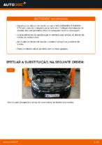 Mudar Discos de Travão VW TOURAN: manual técnico