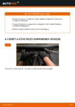 Cseréljünk Fékbetét VW TOURAN: felhasználói kézikönyv
