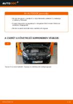 Hogyan cseréje és állítsuk be Fékbetét készlet VW TOURAN: pdf útmutató