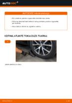 Kaip pakeisti priekinės pakabos spyruokles VOLKSWAGEN TOURAN I (1T3)