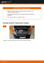 Žingsnis po žingsnio remonto vadovas VW Touran 5t