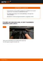 Wie Sie die hinteren Bremsbeläge am VOLKSWAGEN TOURAN I (1T3) ersetzen