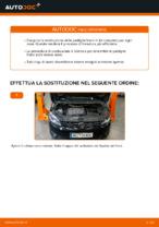 Sostituzione Kit pastiglie freno a disco VW TOURAN: pdf gratuito