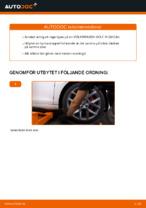 Byta Hjullagersats i VW GOLF VI (5K1) – tips och tricks