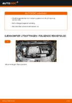 Hvordan skifte ut lyspærer til frontlykten på VOLKSWAGEN TOURAN I (1T3).