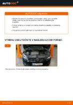 Ako vymeniť predné brzdové platničky kotúčovej brzdy na VOLKSWAGEN TOURAN I (1T3)