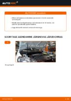 Kuidas vahetada esimesi suspensiooni vedrusid autol VOLKSWAGEN GOLF VI (5K1)