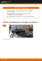 Montage Veerpoten VW GOLF VI (5K1) - stap-voor-stap handleidingen