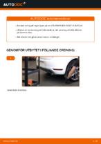 Steg-för-steg-guide i PDF om att byta Hjullager i VW GOLF VI (5K1)