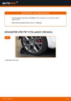 Hur byter man och justera Bärarm VW GOLF: pdf instruktioner