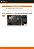 Opi korjaamaan VW Pyyhkijänsulat ongelmat