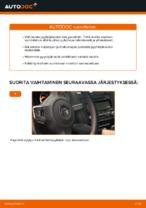 VW GOLF Lasinpyyhkijät vaihto: ilmainen pdf