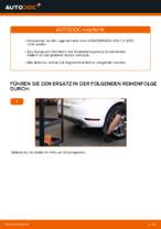 Austauschen von Radlagersatz VW GOLF: PDF kostenlos