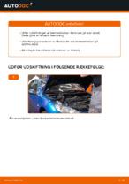 Hvornår skal Bremseklods skiftes PEUGEOT 206 CC (2D): vejledning pdf