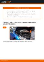 Instalación Pastilla de freno PEUGEOT 206 CC (2D) - tutorial paso a paso