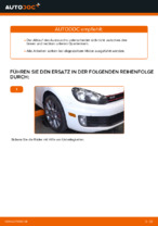 Beheben von Problemen mit VW Querlenker oben vorne/hinten mit unserer Anweisung
