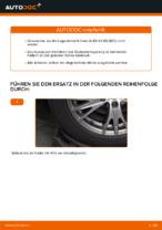 Radlagersatz vorne rechts links wechseln: Online-Anweisung für AUDI A4