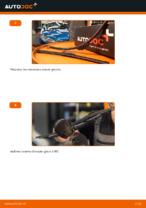 Comment remplacer les lames d'essuie-glaces sur une Peugeot 206 CC (2D)