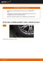 Comment remplacer le palier de moyeu arrière sur une AUDI A4 B6 (8E5)