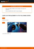 gasoline Fuel Filter changing on PEUGEOT 206: online tutorial