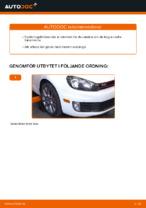 Montering Bärarm VW GOLF VI (5K1) - steg-för-steg-guide