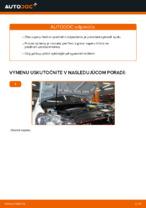 Ako vymeniť vzperu predného tlmiča na aute VOLKSWAGEN GOLF VI (5K1)