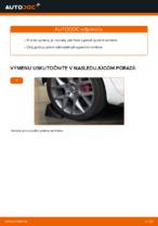 Montáž Rameno Zavesenia Kolies VW GOLF VI (5K1) - krok za krokom príručky
