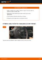 Ako vymeniť lištu predného stierača na aute VOLKSWAGEN GOLF VI (5K1)