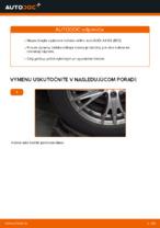 Dielňa príručka pre Audi A4 B5 Sedan