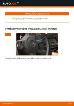 Jak vyměnit lištu zadního stěrače na autě VOLKSWAGEN GOLF VI (5K1)