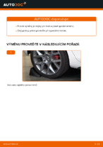 Instalace Řídící páka zavěšení kol VW GOLF VI (5K1) - příručky krok za krokem