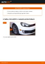 Vyměnit Rameno Zavesenia Kolies VW GOLF: dílenská příručka