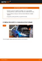 Jak vyměnit přední brzdové destičky kotoučové brzdy na Peugeot 206 CC (2D)