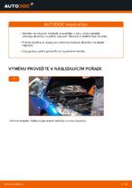 Jak vyměnit zadní brzdové destičky kotoučové brzdy na PEUGEOT 206 CC (2D)