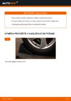 Instalace Tlumic perovani PEUGEOT 206 CC (2D) - příručky krok za krokem