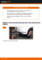 Πώς αλλαγη και ρυθμιζω Σετ ρουλεμάν τροχού VW GOLF: οδηγός pdf