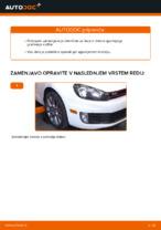 Kako zamenjati in prilagoditi Vilica VW GOLF: vodnik pdf