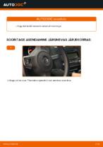 Kuidas vahetada tagumisi klaasipuhasteid autol VOLKSWAGEN GOLF VI (5K1)