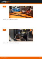Ablaktörlő cseréje: pdf útmutatók PEUGEOT 206