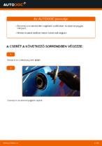 PEUGEOT 206 dízel Üzemanyagszűrő cseréje: kézikönyv online