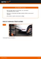 Kā nomainīt aizmugurējā riteņa rumbas gultni automašīnai VOLKSWAGEN GOLF VI (5K1)