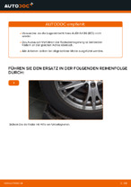 Montage Radlagersatz AUDI A4 Avant (8E5, B6) - Schritt für Schritt Anleitung