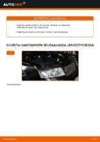 Kuinka vaihtaa polttoainesuodatin AUDI A4 B6 (8E5) malliin