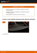 Kuinka vaihdat takaluukun kaasujouset AUDI A4 B6 (8E5) -autoon