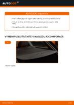 Ako vymeniť plynové vzpery veka kufra na AUDI A4 B6 (8E5)