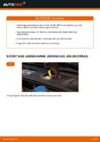 Siit saate teada, kuidas AUDI eesmine ja tagumine Piduriketas hädasid lahendada